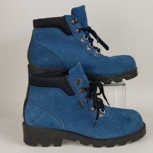 Sporto, Blue Suede, Size 8.5 Duck Boots, Botas
